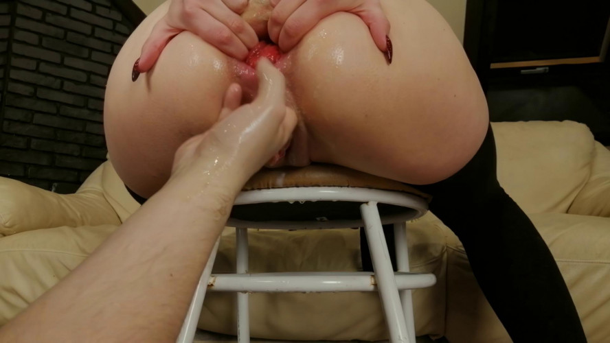 Fisting and Dildo Anal Fist Untill My Ass Prolapsed - Full HD 1080p