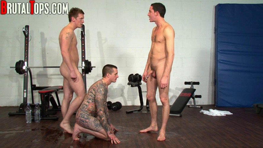 Gay BDSM Worked To Exhaustion