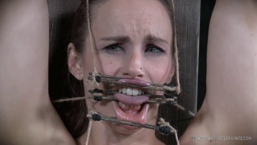 BDSM Hard bondage, spanking and torture for very sexy model Full HD 1080p