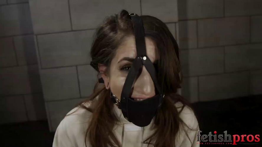 BDSM Sheena Straitjacketed