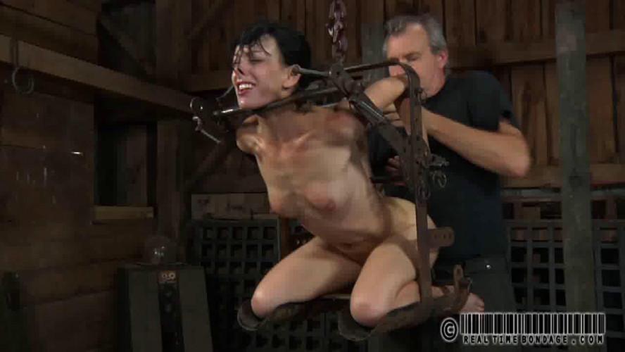 BDSM RealTimeBondage Elise was handcuffed