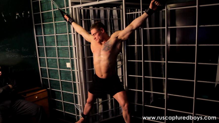 Gay BDSM RusCapturedBoys - Bodybuilder Vasily in Jail - Part I