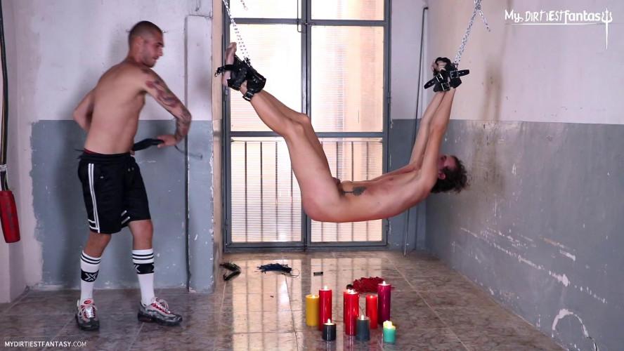 Gay BDSM Electrified Agony Scene 2