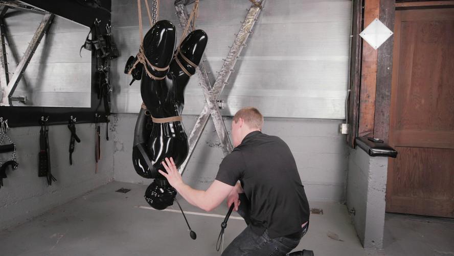 BDSM Latex Endza vs em