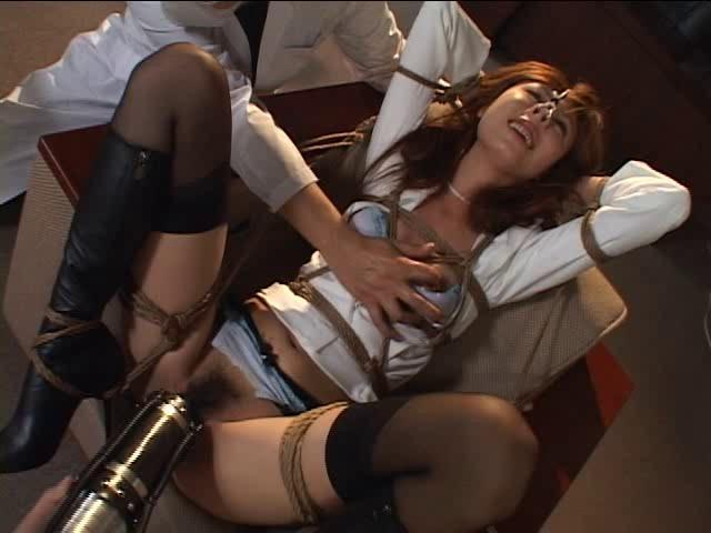 Asians BDSM Two bound  torture  pump