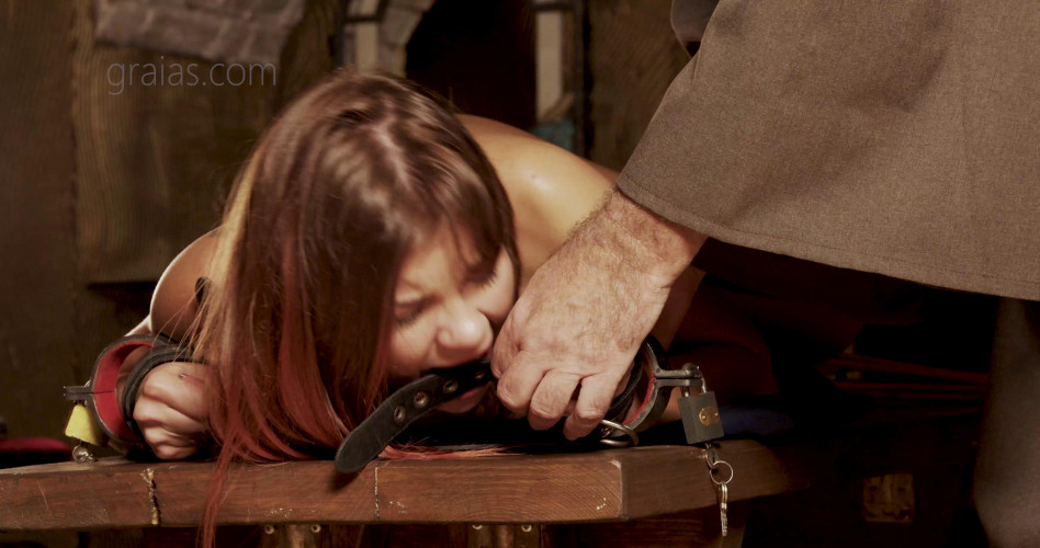 BDSM Painful session for beauty slave