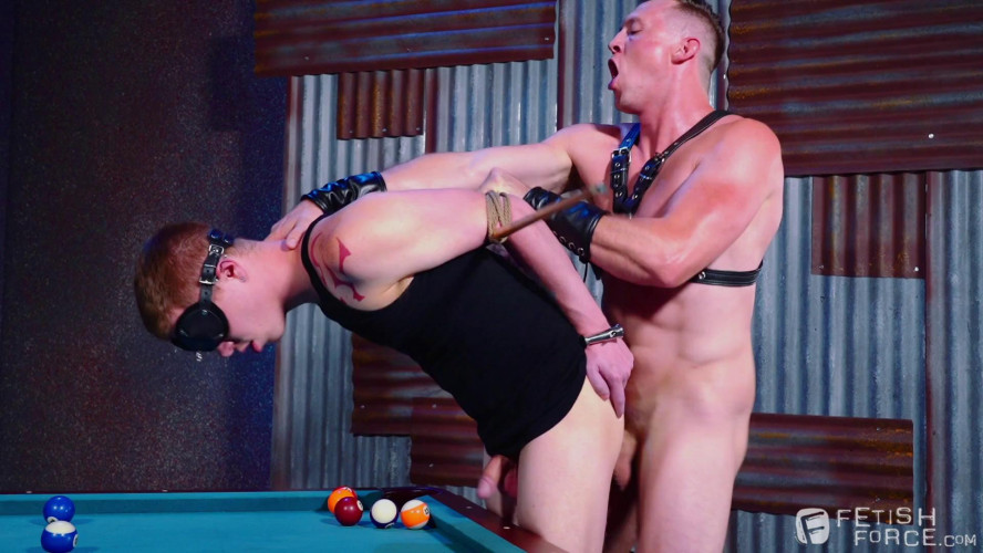 Gay BDSM Fetish Bar, Scene #01