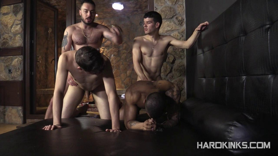 Gay BDSM Bullfight Edition Vol 3 (Henrique Bastos, Jimmy TJ, Macanao Torres, Sergio Mutty)