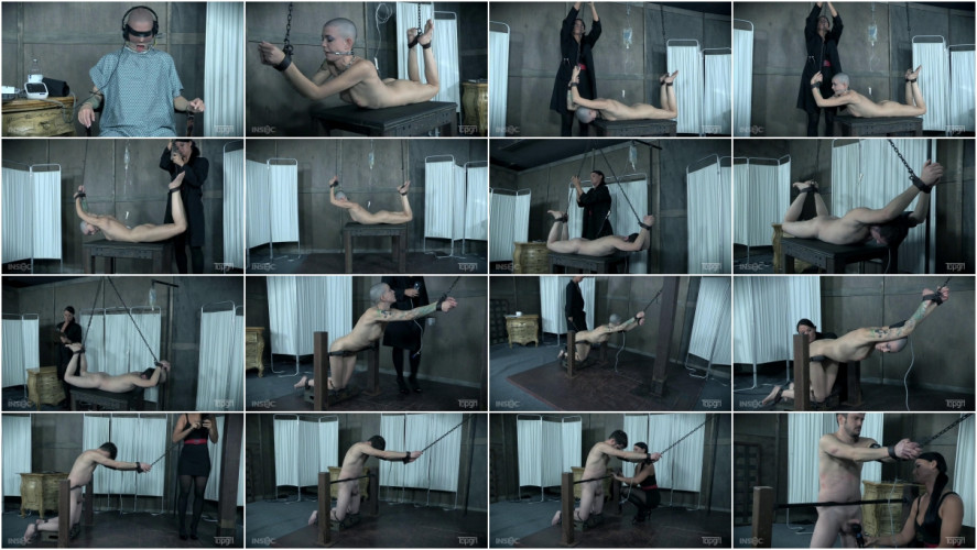 BDSM Suffering for Science Part 1 - Slave Fluffy, Abigail Dupree, London River