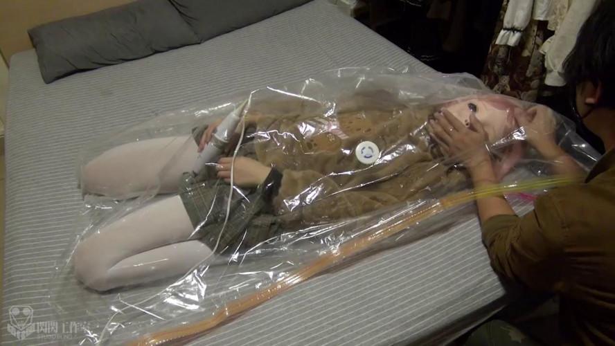 BDSM Latex Mummification