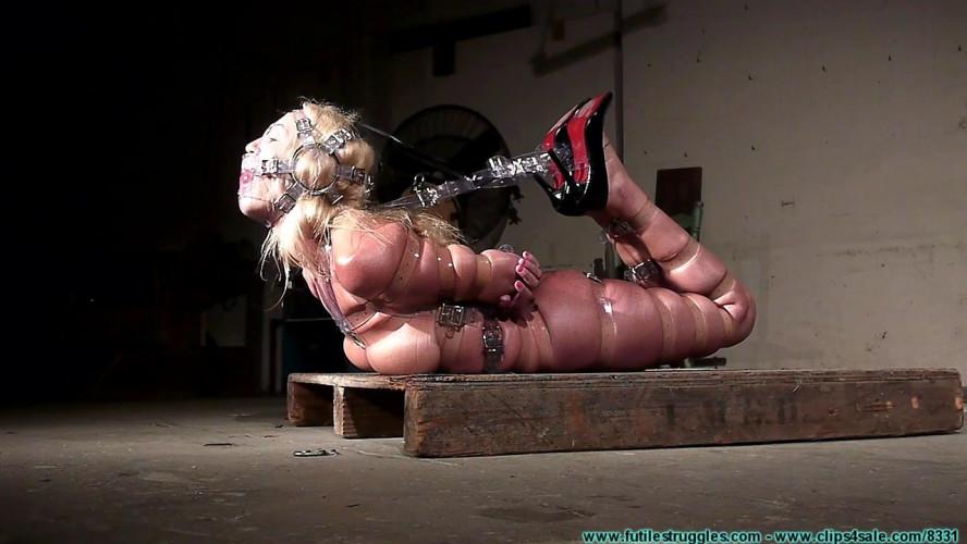 BDSM HD Bdsm Sex Videos Clear Strap Hogtie for Amanda Part 3