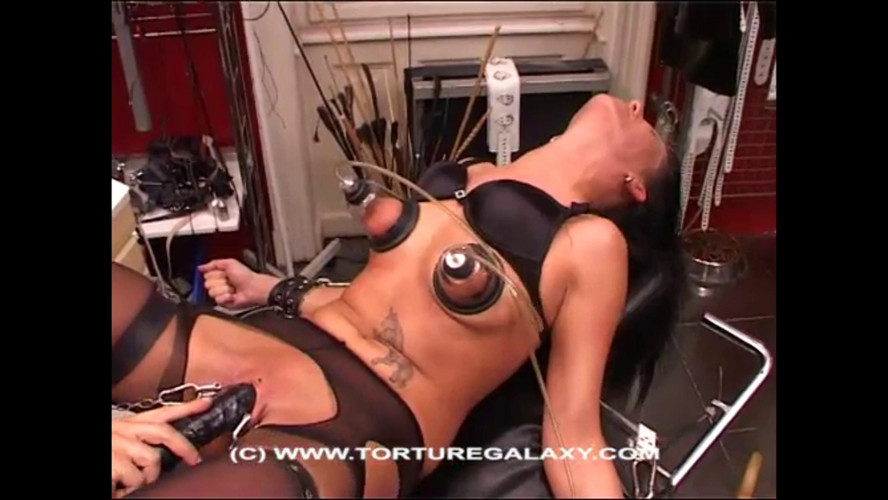 BDSM Beauty Amanda Visiting the Torture Galaxy part 7