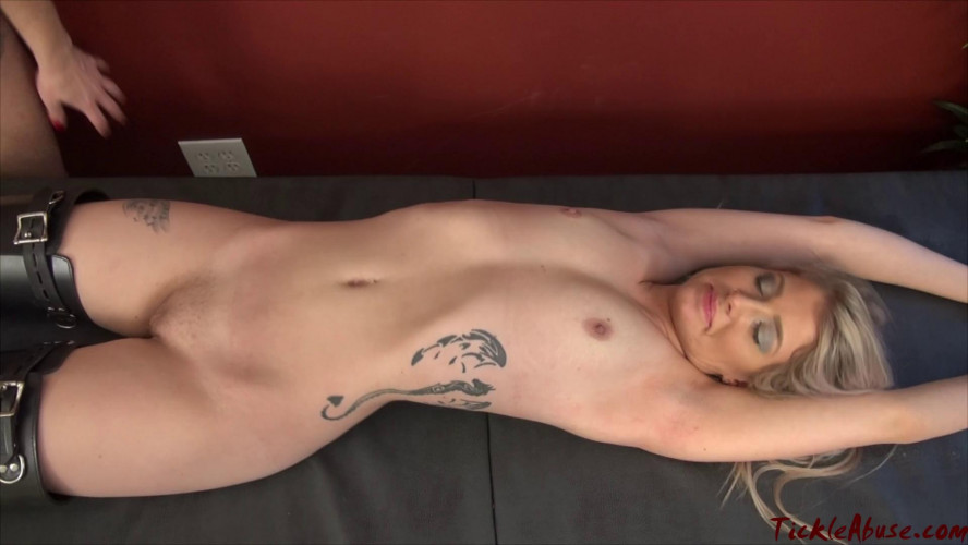 BDSM TickleAbuse - Naked Maia Racked