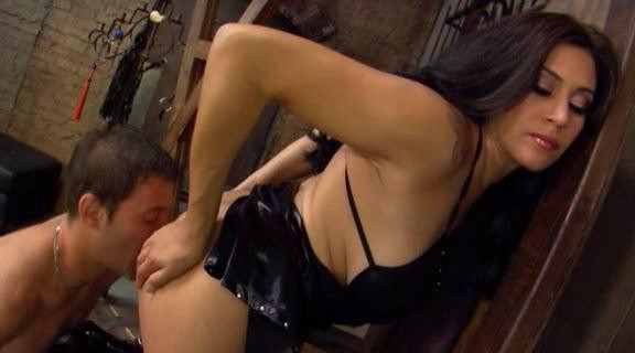 Femdom and Strapon Femdom Ass Worship Part 6
