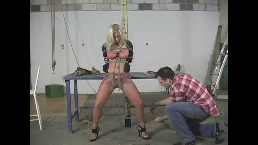 BDSM Crystal Frost Begs for Tight Bondage - Part 2