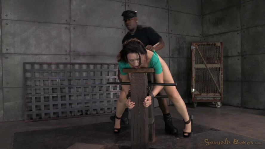 BDSM Sarah Shevon  used hard from both ends