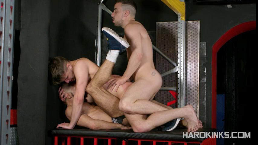 Gay BDSM Scally Alphas Attack 2 (Dmitry Osten, Dominique Kenique, Josh Milk) (480p)