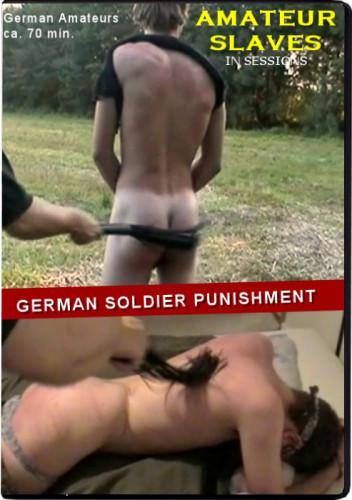 Gay BDSM German Soldier Punishment (Spanking DVD)