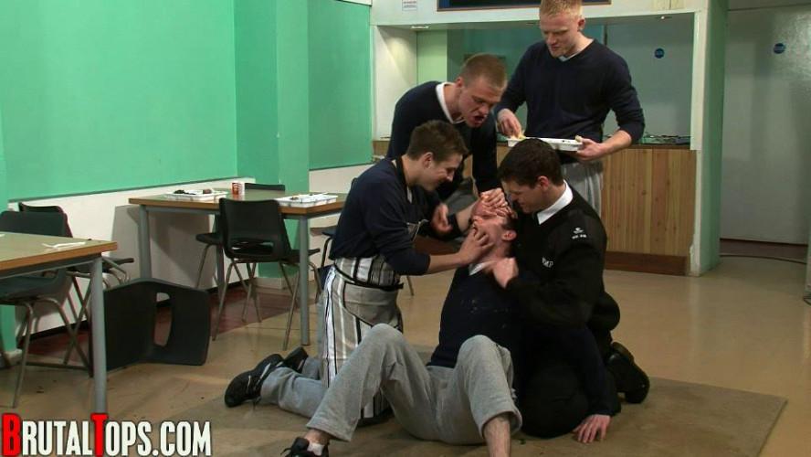Gay BDSM Session 45 - Masters Chris Toby, Lee & John