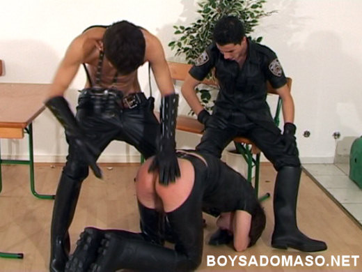 Gay BDSM Police Boys in Action (Part A)