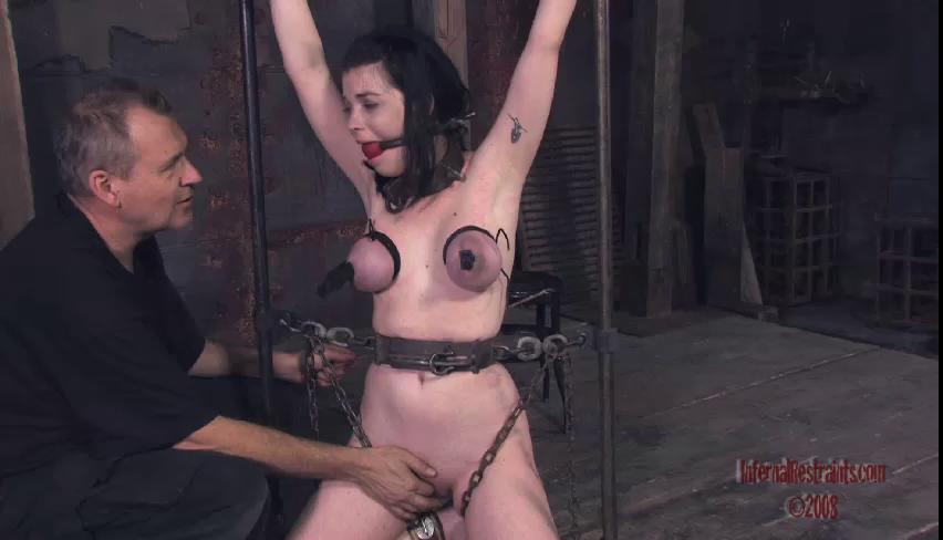 BDSM New Gold Sweet Beautifull Vip Gold Collection Infernal Restraints. Part 4.