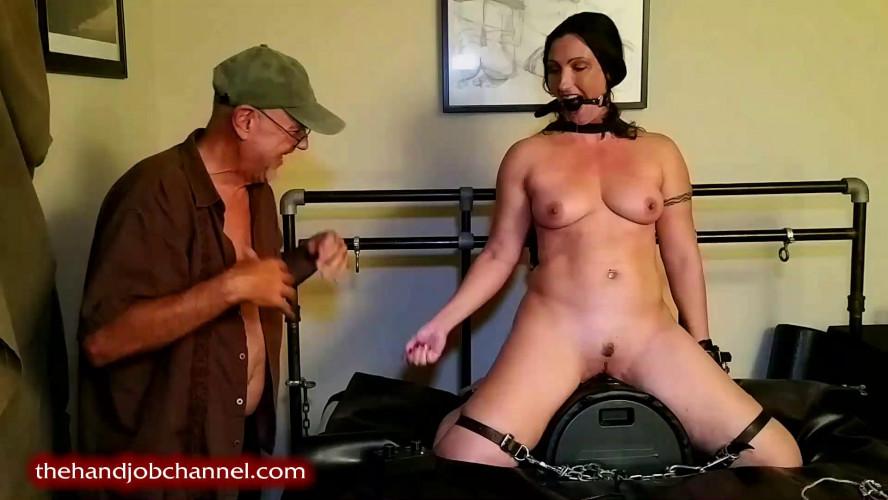 BDSM Sybian Orgasm