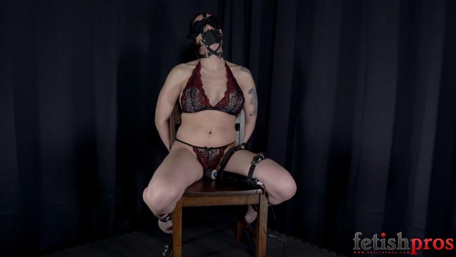 BDSM Restrained and Led Relentlessly to Bondage Orgasms