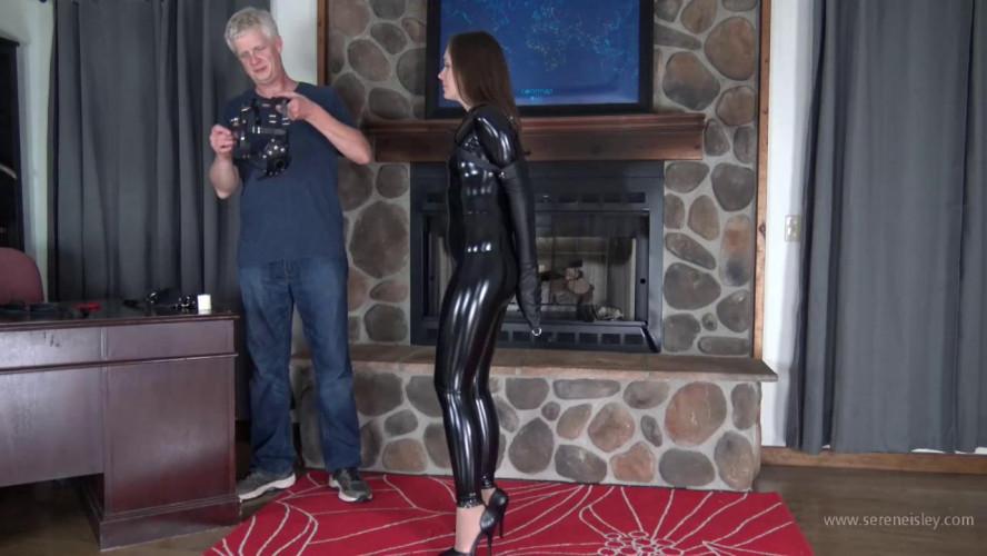 BDSM Latex Rachel Adams - PVC Leather, and High Heels