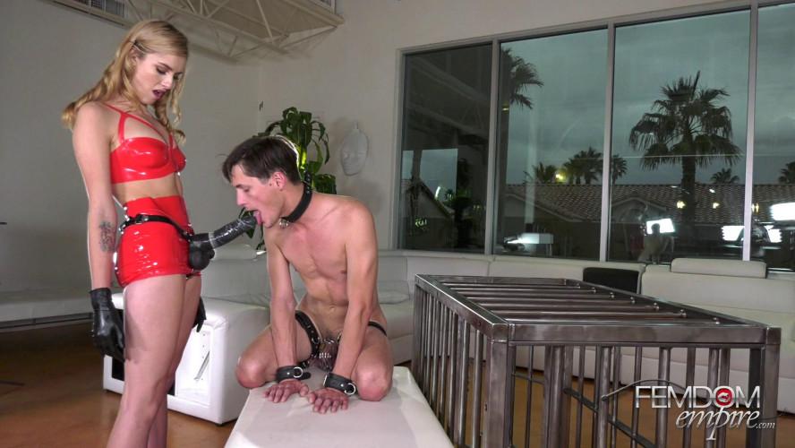 Femdom and Strapon Mazzy Grace Big Dick Slut