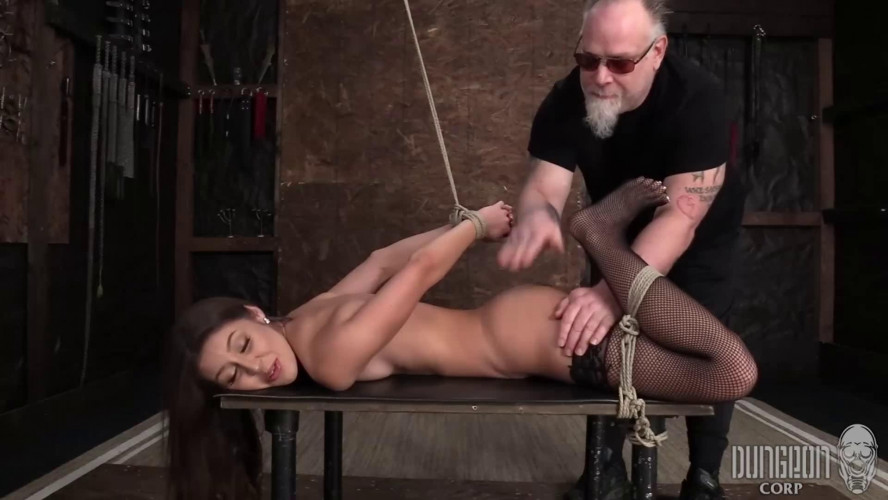BDSM Super bondage, torture and domination for sexy young girl part 2 HD 1080