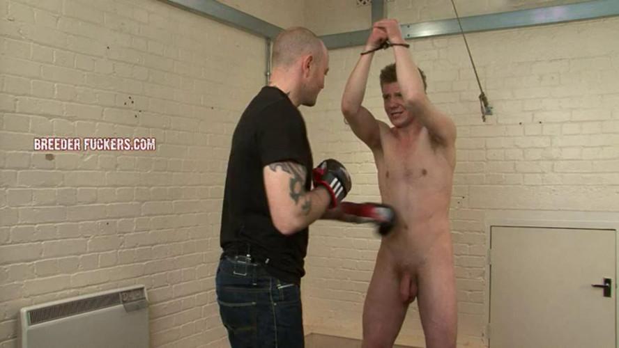 Gay BDSM Bryan - Sore cock sucked