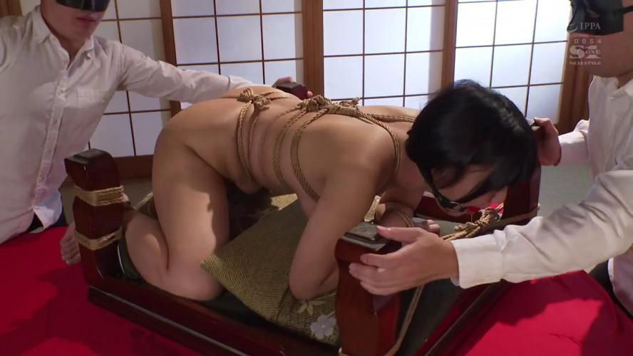 Asians BDSM Big Tits  in Uniform Fucked In Total Bondage, Hotaru Nogi