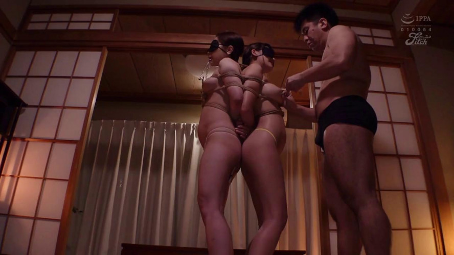 Asians BDSM Training Of Two Big Tittied
