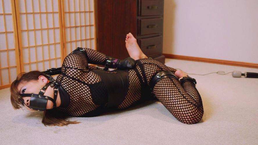 BDSM Mina is Locked in Her New Cuffs Part 2