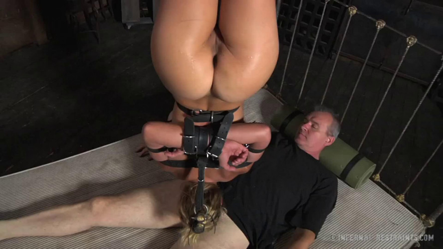 BDSM Bondage, strappado, spanking and torture for bitch part 3 Full HD 1080p