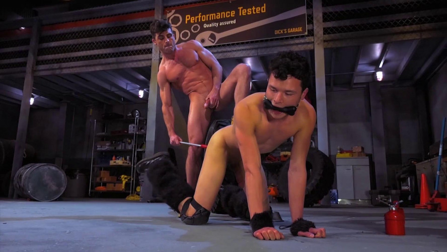 Gay BDSM Bondage Garage, Scene #05