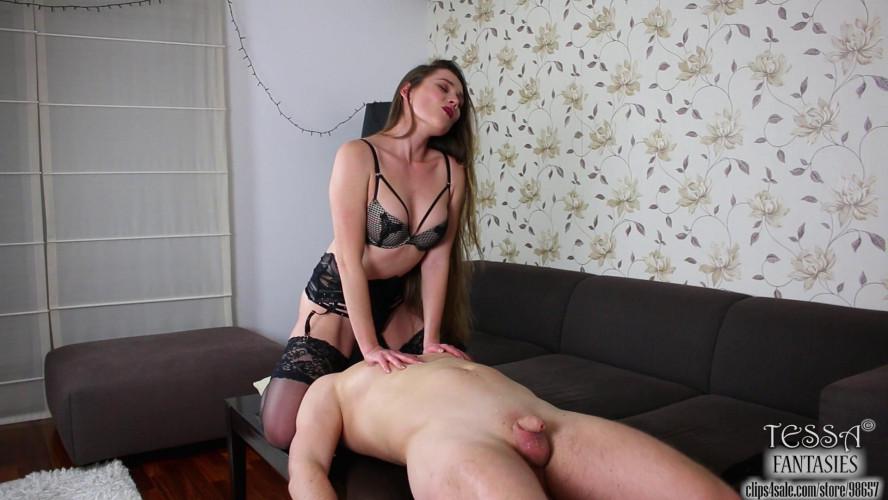 Femdom and Strapon Tessa Fantasies - Last Orgasm Serum