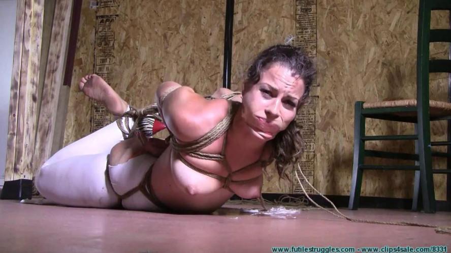BDSM Lexy mae hogtied part 2