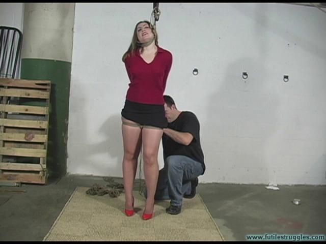 BDSM HD Bdsm Sex Videos blue hogtied skirt part 1