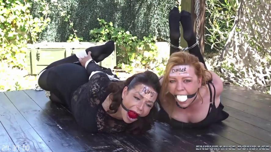 BDSM JJ Plush and St4rdust Hogtie vs Hogcuff Duel
