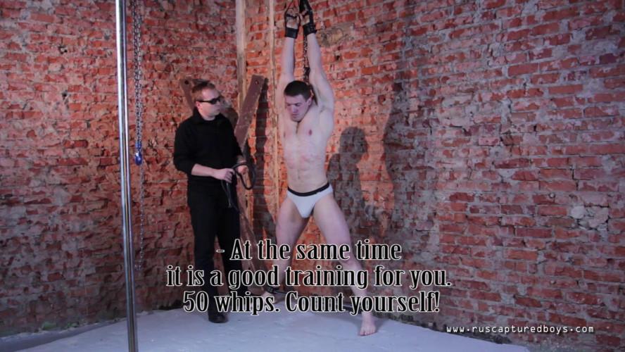 Gay BDSM RusCapturedBoys - Slave Factory - Bodybuilder Ilya - Final