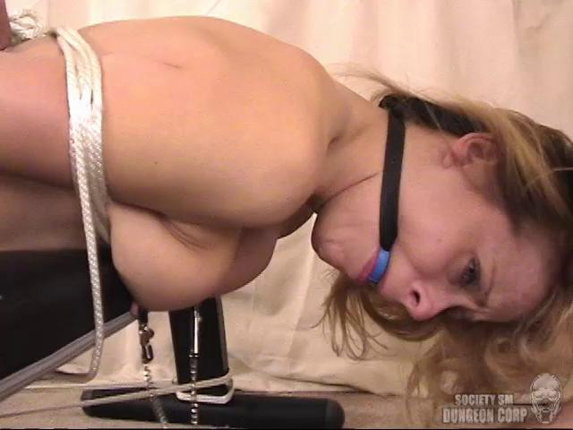 BDSM Payton Leigh Strung Up and Spread Wide