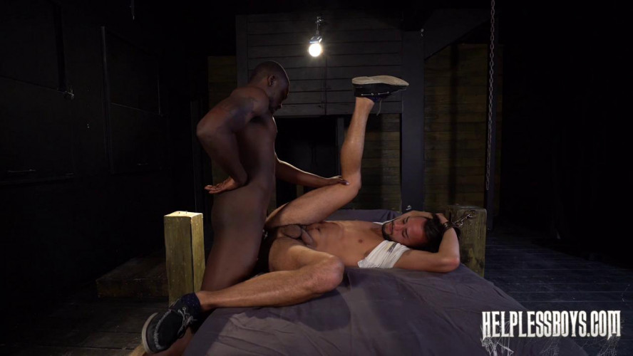 Gay BDSM HelplessBoys Javier Cruz - Hungover and Hogtied