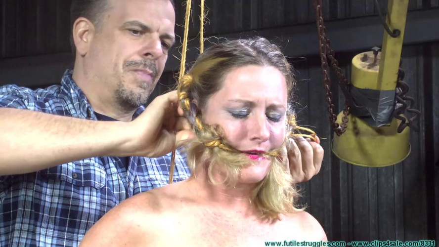 BDSM Fayth Inverted Whipped Part 1