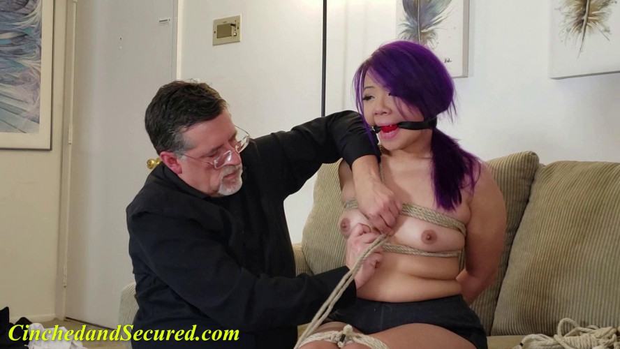 BDSM Katana's Thorne Dreams part 2, Cinched and Secured