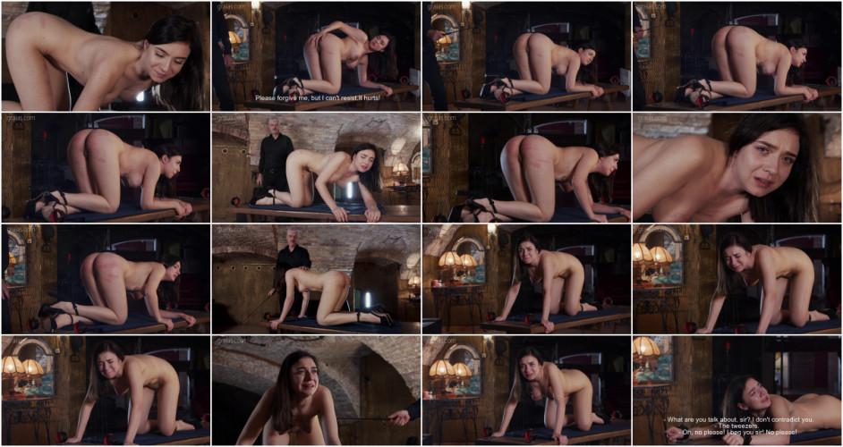 BDSM Rough Training For Sexy Slave Kyra