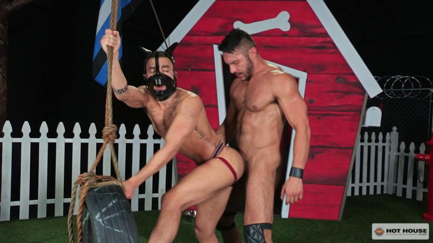 Gay BDSM Hot House - Beaux Banks and Seth Santoro 1080p