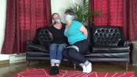 Elizabeth Andrews & Pepper Sterling – Bound And Gagged In Jeans