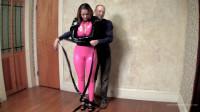 Serene Isley & Kevin – Black Bolero Straitjacket And Catsuit