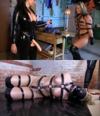 Hard Bondage, Domination, Hogtie And Torture For A Hot Model